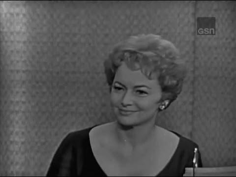 olivia de havilland - MYSTERY GUEST: Olivia de Havilland PANEL: Arlene Francis, Robert Morse, Dorothy Kilgallen, Bennett Cerf.
