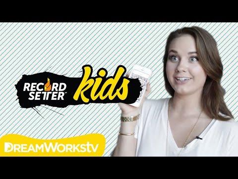 ARDEN ROSE vs JENNXPENN! Selfie World Record Showdown   RecordSetter Kids