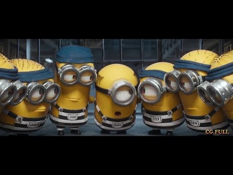 Minions escapes from jail Despicable me 3 (2017) Hd