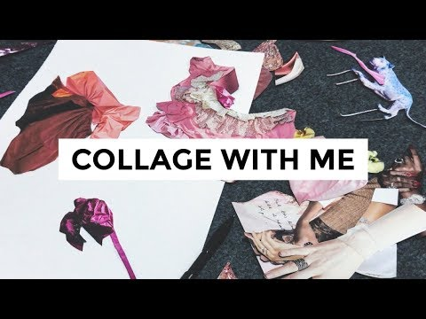 Collage with Me | How to Hand-Cut Collage in 9 Steps