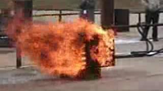 Novacool Class A fire