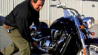 5. 2009 Suzuki Boulevard C109R stock #9-0217  demo ride walk around