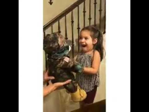 Isä lähetti tyttärelleen iloisen lahjan