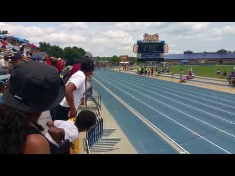 2016 USATF North Carolina Championships...Greensboro NC..100 meter Final