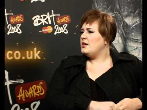 Adele interview on the BRITS, the X Factor and the Osbournes