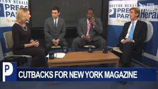 Dec 5, 2013 ... Press Party: Cutbacks at New York Magazine ... Hollister brothers on signing with nthe New England Patriots - Duration: 0:55. Boston Herald 843 ...