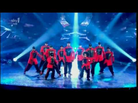 Diversity perform on the Got to Dance Final. Broadcast live on Sky1 on