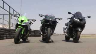 8. Kawasaki H2 vs. ZX10R vs. ZX14