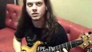 Emil Werstler of Daath teaches how to play a cool guitar riff!