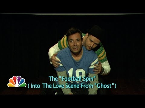 Evolution of End Zone Dancing (w/ Jimmy Fallon & Justin Timberlake) - YouTube