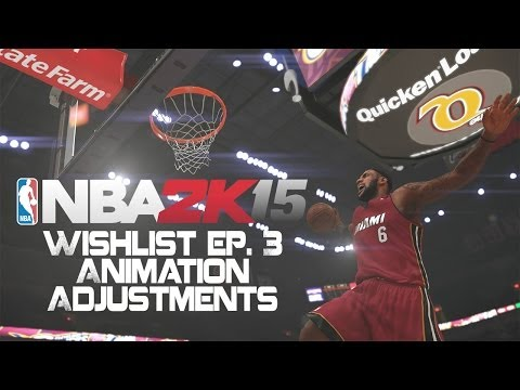 Adjustments - Subscribe to IpodKingCarter for more NBA 2K15 Next-Gen gaming videos - http://goo.gl/ZToRII Wanna Record Your Gameplay? Get An Elgato Game Capture HD - http:...