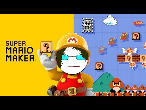Mario Maker: I immediately regret this decision