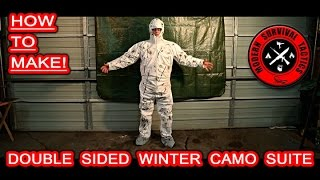 Easy and fast method how to make a double sided winter camouflage suite. You will need just several items and tools (see links below). The suite is lightweight, reasonably durable, somehow insulating and not bulky.Be prepared to disappear!SUITE:http://www.homedepot.com/p/TYVEK-XXL-Coverall-with-Hood-and-Boot-141242-12HD/203555525GREEN PAINThttp://www.homedepot.com/p/Rust-Oleum-Specialty-12-oz-Deep-Forest-Green-Camouflage-Spray-Paint-1919830/100117486BLACK PAINT:http://www.homedepot.com/p/Rust-Oleum-Specialty-12-oz-Black-Camouflage-Spray-Paint-1916830/100185087------------------------------------------------------------------------------------------------------FOR MUCH MORE VISIT:http://www.modernsurvivaltactics.comhttp://www.store.modernsurvivaltactics.comhttps://www.google.com/+MODERNSURVIVALTACTICS