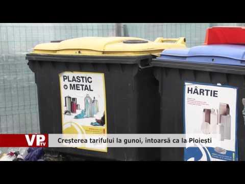 Creșterea tarifului la gunoi, întoarsă ca la Ploiești