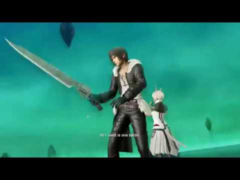 Dissidia Final Fantasy NT - Squall Leonhart- All Boss Fight Quotes
