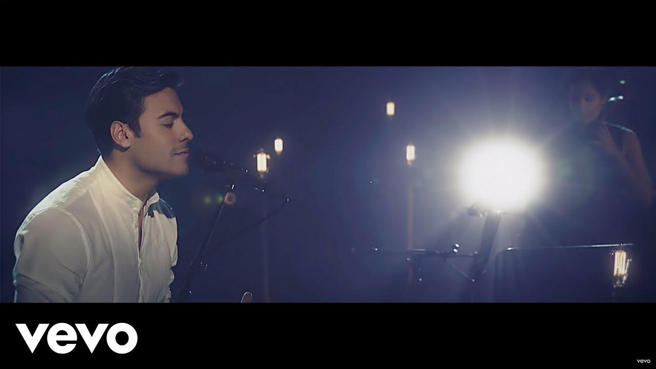 Carlos Rivera - Que Lo Nuestro Se Quede Nuestro (Versión Acústica) - YouTube