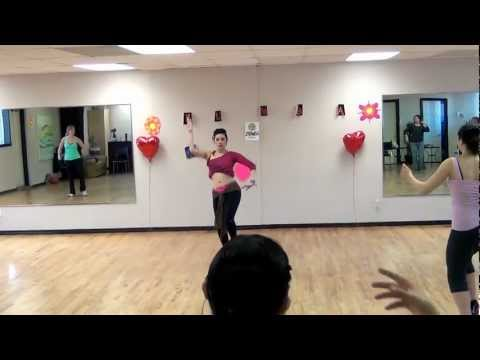 Зумба с Танцем живота. Урок видео. Онлайн обучение.