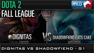 Fall League: Dignitas vs Shadowfiend Game 1