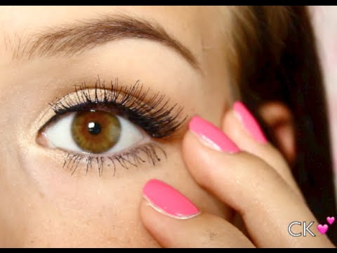 🌸  Falsche Wimpern RICHTIG auftragen - so geht's! 🌸