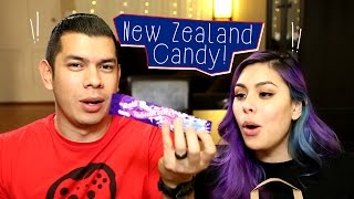 Candy Taste Test! New Zealand Candy Edition