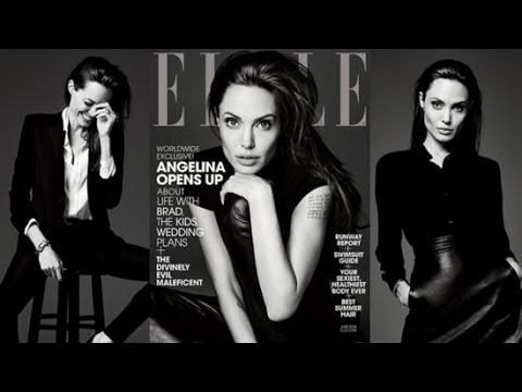 Angelina Jolie Opens Up About Marriage to Brad Pitt