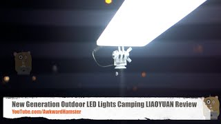 New Generation Outdoor LED Lights Camping LIAOYUAN Review Product Link: http://amzn.to/2cp8Gyp Designed with small size, light weight and easy operation for ...