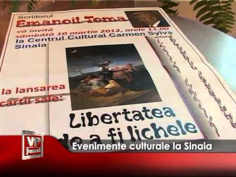 Evenimente culturale la Sinaia