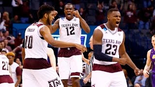 Second Round: Texas A&M stuns Northern Iowa