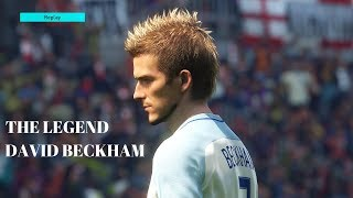 Những kỹ năng ấn tượng của David Beckham trong phiên bản PES 2018