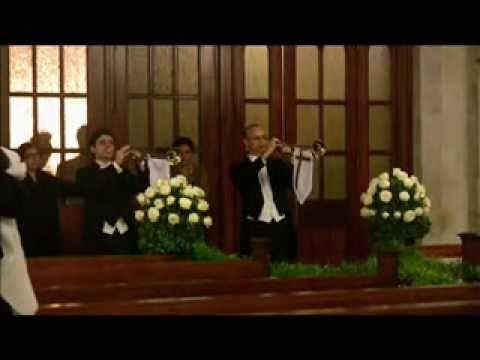 Casamento Igreja São Pedro - Marcha Nupcial-Mendelsshon- 2 Trompetes Triunfais,Trios de cordas e Timpano