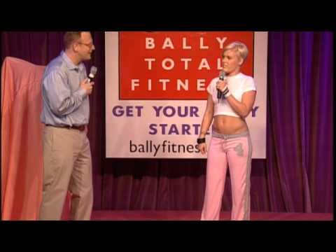 Celebrity Latest News — Pink Kicks Butt for Bally's Total Fitness Joint Venture and is Inspired.