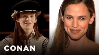Eddie Redmayne Is A Dead Ringer For Jennifer Garner  - CONAN On TBS