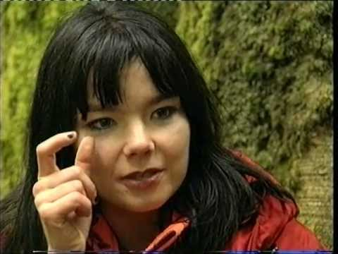 Björk - Short Interview On Making The Video For Isobel (1995)