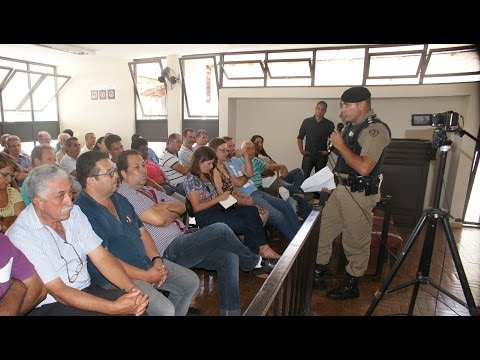 Audiência Pública em Sabinópolis para buscar solução ao alto índice de criminalidade na cidade.