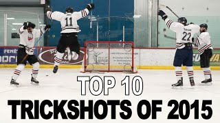 Top 10 Trick Shots of 2015 - SweetSpotSquad