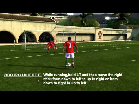 fifa 11 xbox 360 technique