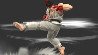 Ryu can surprisingly travel under stages!