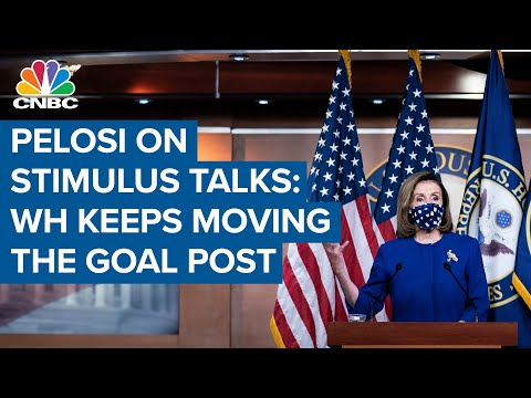 Nancy Pelosi: White House keeps 'moving the goal post' during stimulus talks