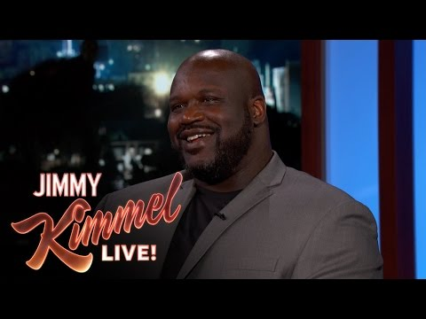 Jimmy Kimmel Thinks Shaq Could Be President