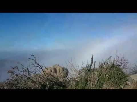 Time Lapse El mar de nubes en Gran Canaria