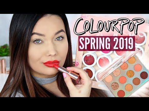 Colourpop Spring Sweet Talk Collection Real Face Swatches!