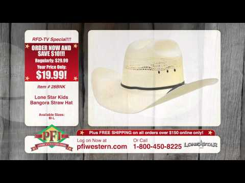 Lone Star Bangora Cowboy Hats