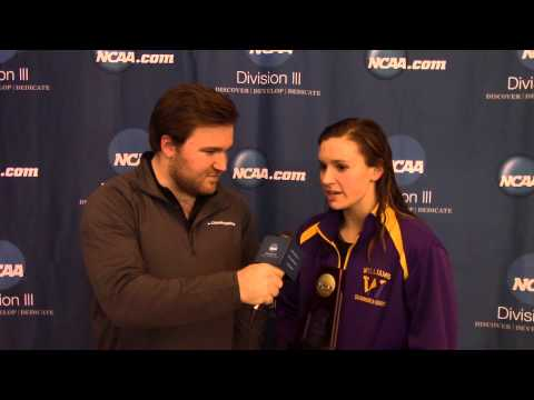 Emma Waddell, Williams - Post-Race Interview 100 Fly Women's Champion