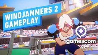 10 Minutes of Windjammers 2 Gameplay - Gamescom 2019 by IGN