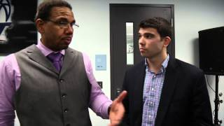 Ed Cooley with Craig Belhumeur – Providence 60 Georgetown 57