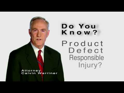 Auto Accidents and Product Defects