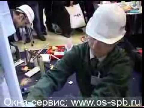 Видео Монтаж металлопластиковых окон. Часть 3
