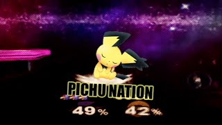 PICHU OR DIE ( ͡° ͜ʖ ͡°) | Super Smash Bros. Wii U / 3DS