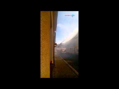Ceska lipa požár v 16:15h
