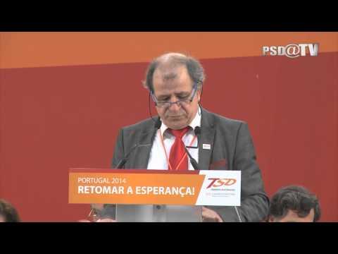 Alberto Almeida na Sessão de Abertura do XIII Congresso Nacional dos TSD